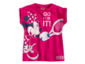 Dievčenské tričko Disney MINNIE TENIS ružové