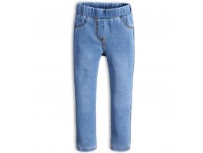 Dievčenské nohavice jeggings KNOT SO BAD STYLE svetlo modré