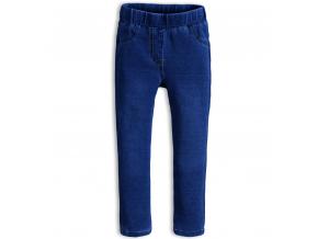 Dievčenské nohavice jeggings KNOT SO BAD STYLE tmavo modré