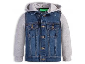 Chlapčenská džínsová bunda KNOT SO BAD JEANS STYLE modrá