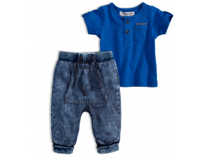 Chlapecká súprava BABALUNO SAFARI stredne modrá