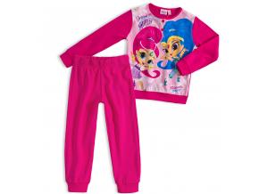 Dievčenské pyžamo SHIMMER & SHINE DREAM tmavo ružové