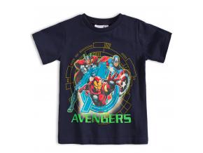 Detské tričko MARVEL AVENGERS IRON MAN modré
