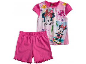 88687acab8fa Dievčenské letné pyžamo Disney MINNIE SELFIE ružové