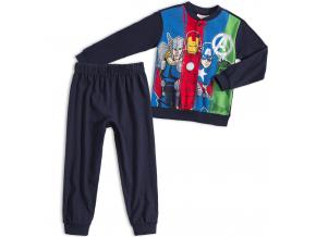 Chlapčenské pyžamo MARVEL AVENGERS tmavomodré