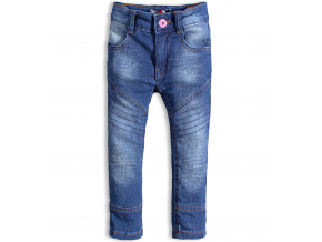 Dievčenské džínsy DIRKJE YAY modré
