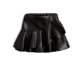 Dievčenská sukňa KNOT SO BAD PARTY čierna