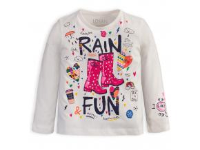 Dievčenské tričko Losan RAIN smotanové