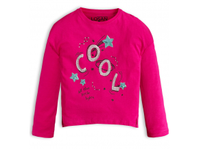 Dievčenské tričko Losan COOL ružové