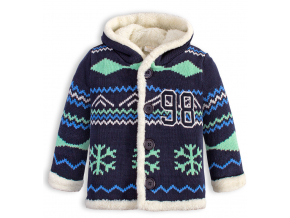 Chlapčenský termo sveter DIRKJE WINTER modrý