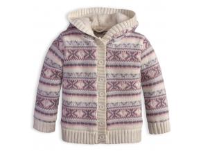 Dievčenský termo sveter DIRKJE SNOW smotanový