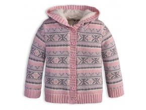 Dievčenský termo sveter DIRKJE SNOW ružový