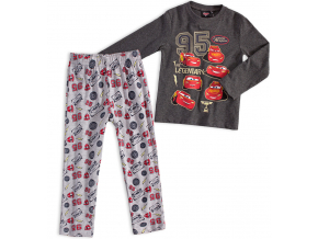 Chlapčenské pyžamo Disney CARS LEGENDARY šedé