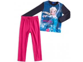 Dievčenské pyžamo DISNEY FROZEN ELSA modré