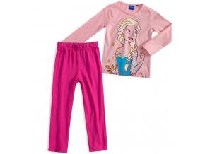 Dievčenské pyžamo DISNEY FROZEN ELSA ružové