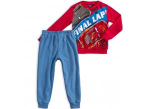 Chlapčenské pyžamo DISNEY CARS FINAL LAP červené