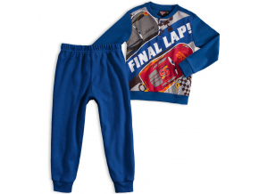 Chlapčenské pyžamo DISNEY CARS FINAL LAP modré