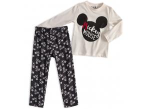 Detské pyžamo MICKEY MOUSE krémové