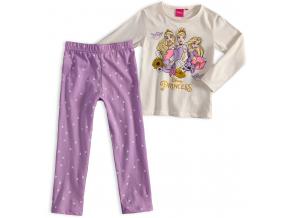 Dievčenské pyžamo DISNEY PRINCESS krémové