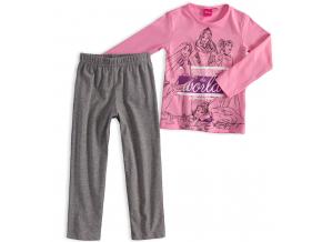 Dievčenské pyžamo DISNEY PRINCESS ružové