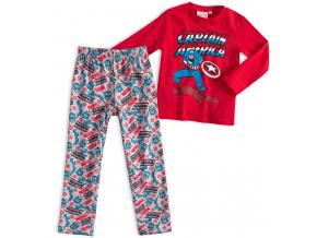 Chlapčenské pyžamo MARVEL CAPTAIN AMERICA červené