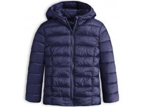 Dievčenská prešívaná bunda LOSAN SCHOOL modrá