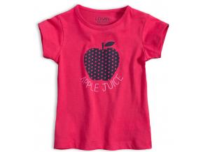 Dievčenské tričko LOSAN JABĹČKO ružové