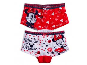Dievčenské nohavičky DISNEY MINNIE červené