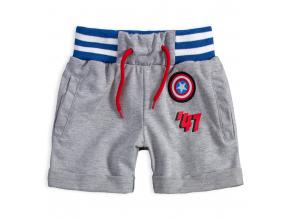 Chlapčenské šortky MARVEL COMICS šedé