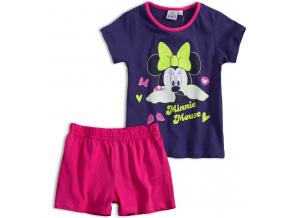 Dievčenské pyžamo DISNEY MINNIE SLEEPING fialové