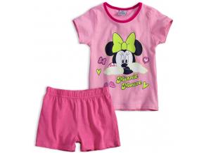Dievčenské pyžamo DISNEY MINNIE SLEEPING ružové