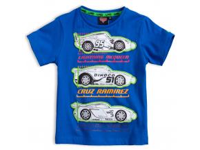 Chlapčenské tričko DISNEY CARS McQUEEN modré