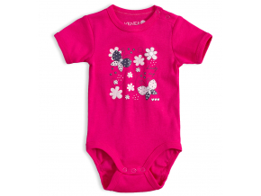 Dojčenské body VENERE LOVELY DAY tmavo ružové