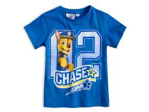 Chlapčenské tričko PAW PATROL CHASE modré
