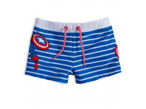Chlapčenské plavky MARVEL CAPTAIN AMERICA modré