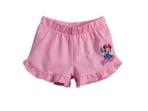 Dievčenské šortky DISNEY MINNIE YAY svetlo ružové