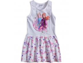 Dievčenské šaty DISNEY FROZEN SISTER LOVE biele