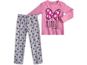 Dievčenské pyžamo DISNEY MINNIE BOW svetlo ružové