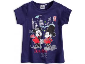 Dievčenské tričko DISNEY MINNIE LONDON modré