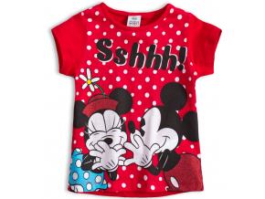 Dievčenské tričko DISNEY MINNIE červené