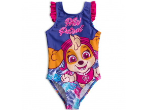 Dievčenské plavky PAW PATROL SKYE fialové