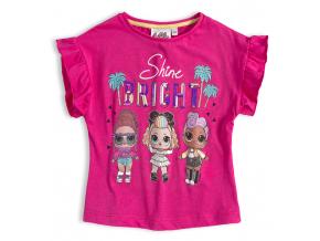 Dievčenské tričko L.O.L SURPRISE BRIGHT ružové