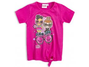 Dievčenské tričko L.O.L SURPRISE GLAMI LIFE ružové