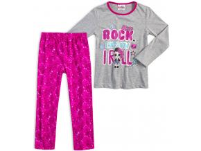 Dievčenské pyžamo L.O.L SURPRISE ROCK šedé