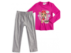 Dievčenské pyžamo L.O.L SURPRISE ROCK ružové