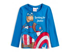 Chlapčenské tričko AVENGERS JUSTICE modré