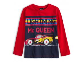 Chlapčenské tričko DISNEY CARS BLESK McQUEEN červené