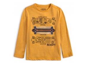 Chlapčenské tričko LOSAN SKATE žlté