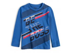 Chlapčenské tričko LOSAN BE THE BOSS modré