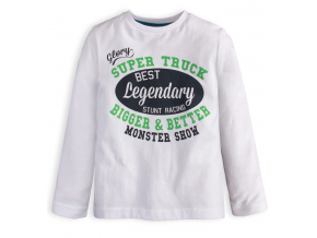 Chlapčenské tričko KNOT SO BAD LEGENDARY biele
